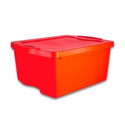 Caja Fullbox 47x27x60 cm 55 Lt Rojo