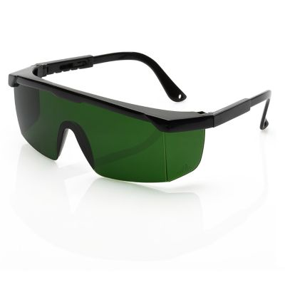 Gafas de seguridad AQUILES OXICORTE Lente Verde IR3.0