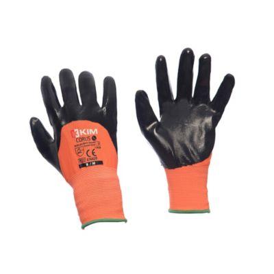 Guantes de seguridad CORUS 3/4 Material Nitrilo Talla 10/XL