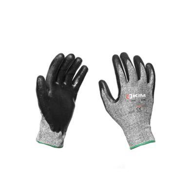 Guantes de seguridad NERIO Material Nitrilo Anticorte Talla 9/L