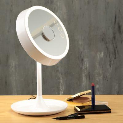 Lámparas De Escritorio LED Con Espejo 450 Lúmenes 6.5w Blanco