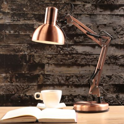 Lámpara Escritorio Modern 1l E27 Cobre