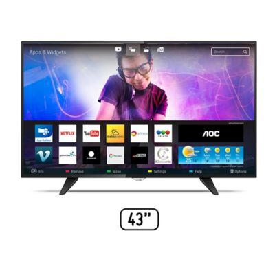Televisor 43 Pulgadas LED FHD Digital LE43S5970i Smart TV