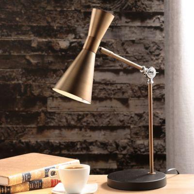 Lámpara Escritorio Trier 1 luz Dorada