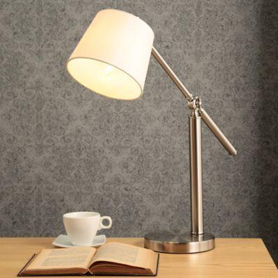 Lámpara   Escritorio Evora 1 Luz E27 Satín