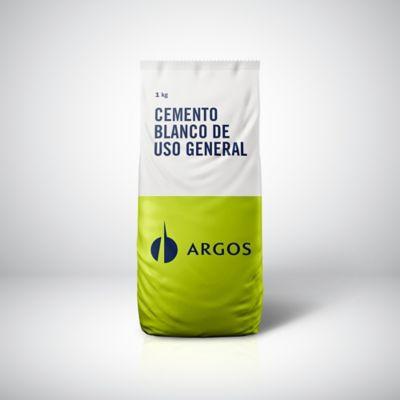 Cemento Argos Blanco Uso General 1kg