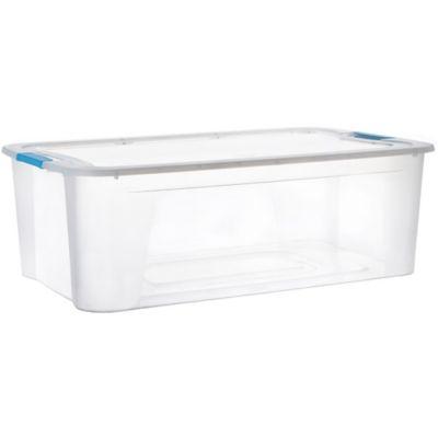 Caja Organizadora Ultraforte 42x17x60 cm 30 Lt Transparente