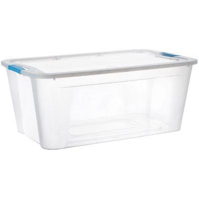 Caja Organizadora Ultraforte 46x23x60 cm 46 Lt Transparente