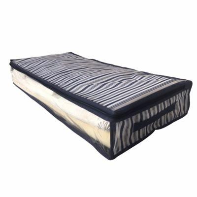 Bolsa Organizadora Bajo Cama Rayas 100x45x15 cm