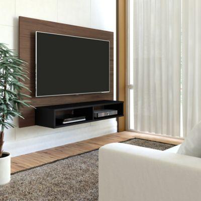 Panel para TV Flash Pantal 42 89.5x120x28cm Imbuia/Negro