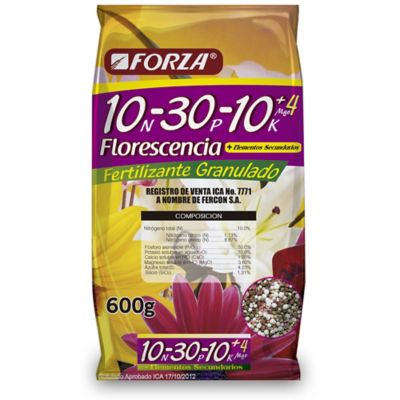 Fertilizante 10-30-10 Bolsa X 600Grs