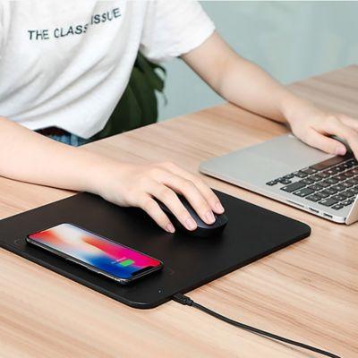 Mousepad con cargador wireless