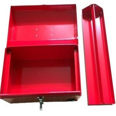 Caja Metálica de 20 Pulg para Herramientas Roja