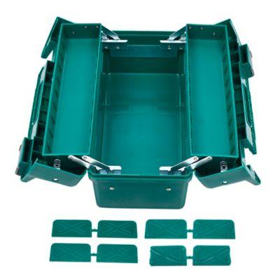Caja Plastica de 17 Pulg Tipo Acordeón 3 Bandejas
