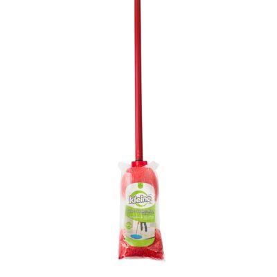 Trapero Microfibra Antibacterial Semi-Industrial Rojo Cabo Laminado