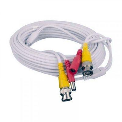 Cable Sat para Cctv Blanco Enc-Vd2030 Video Cable 30 Metros