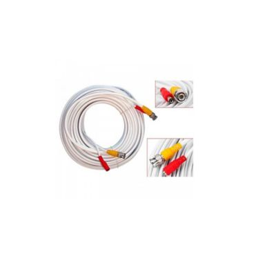 Cable Sat para Cctv Blanco Enc-Vd2020 Video Cable 20 Metros