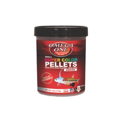 Alimento para Peces Super Color Pellets 460 Grs