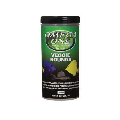 Alimento para Peces Veggie Rounds 227 Grs