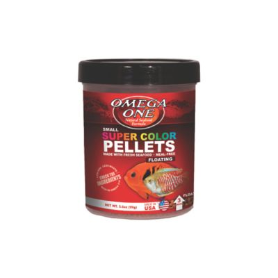 Alimento para Peces Super Color Pellets 184 Grs