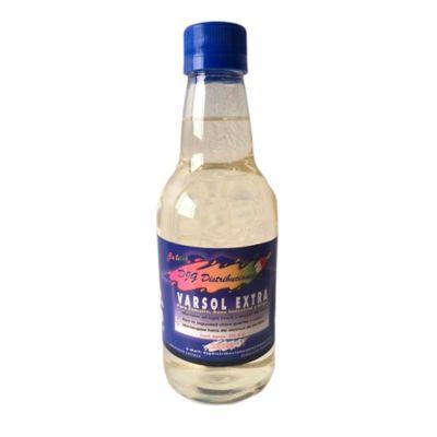 Varsol Media Botella - Botella Pet 375 cc - Para Esmaltes, Aseo Industrial y Hogar