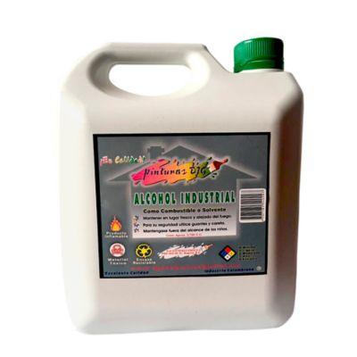 Alcohol Industrial Galón - Galón PVC 3.750 cc - Para Uso Combustible o Solvente