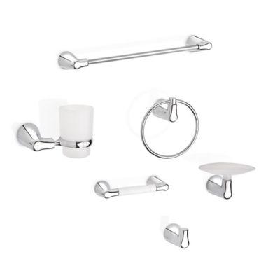 Kit de accesorios para baño Nogal x 6 piezas
