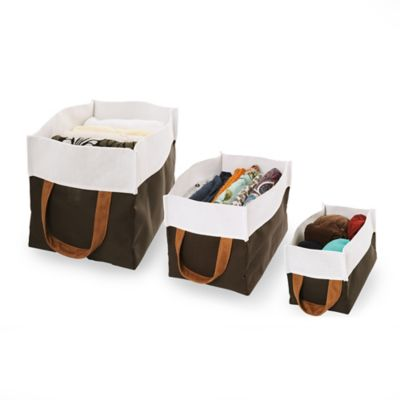 Set De Cajas Textiles Por 3 Unidades