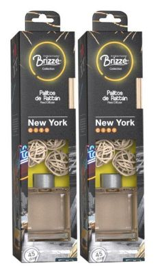Duo Pack Collection Palitos Rattan New York 140ml