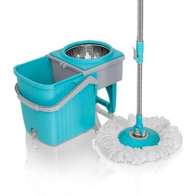 Trapero Giratorio 360 Stainless Mop con 2 Mopas
