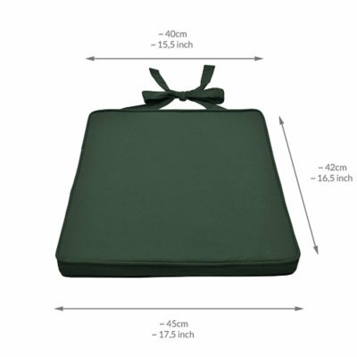 Cojín Silla Bastidor Ajustable Verde