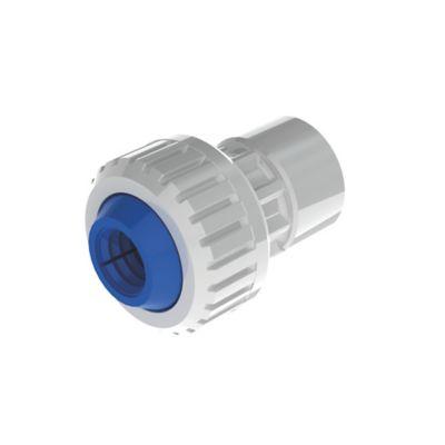 Conector Hembra 1/2 pulg DZR X PE 16mm