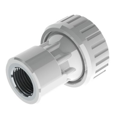 Conector Hembra 1/2 pulg DZR X PE 20mm