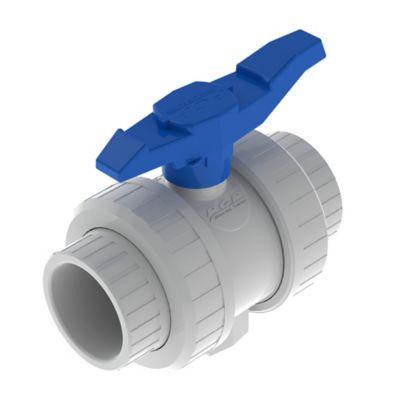 Válvula Dos Universal 2 pulg Soldar Blanco