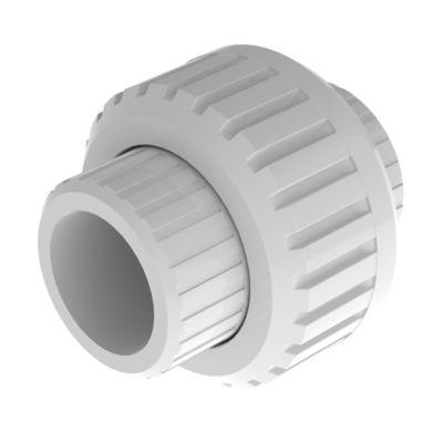 Unión Universal de 1/2 pulg  en PVC para Soldar