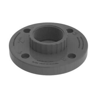 Brida de 3 pulg PVC VAN STONE para Roscar