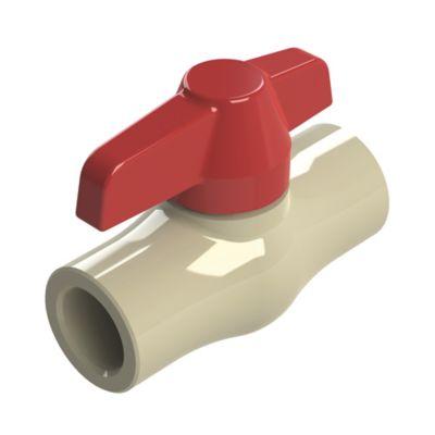 Válvula de Bola de 1 pulg CPVC para Soldar