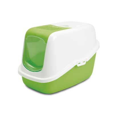 Arenera Diseño Moderno con Manija + Filtro de Carbón Blanco - Verde
