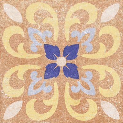 Cuadrado Idris Cara Única 19.8x19.8 centímetros Multicolor