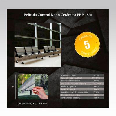 Película Control Nano Cerámica 2x1,52m HGCSPHP15-2m