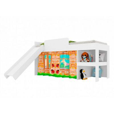 Cama Infantil Playground Blanco