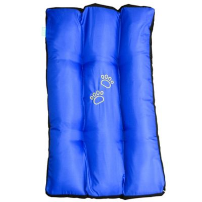 Colchoneta para Mascotas Grande 90 x 55 cm Lavable Azul