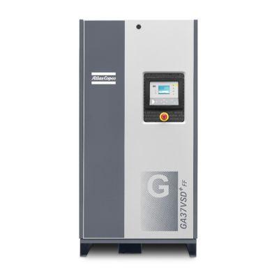 Compresor de Tornillo Lubricado 10HP + Variador de Velocidad + Secador de Aire Incorporados