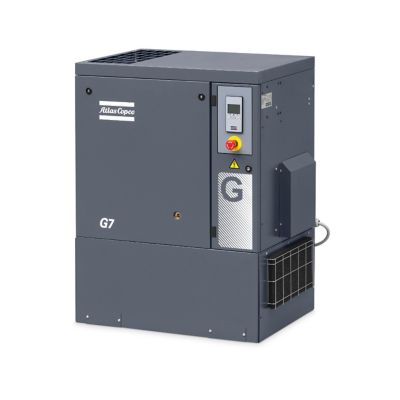 Compresor de Tornillo Lubricado 15HP Secador de Aire + Tanque Pulmón Incorporado
