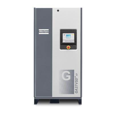 Compresor de Tornillo Lubricado 15 HP + Variador de Velocidad + Secador de Aire Incorporados