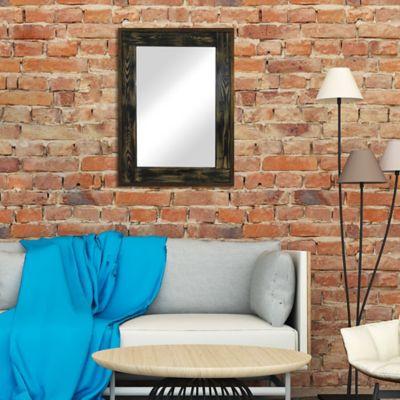 Espejo Dali Negro  57x77 cm