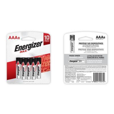 Pilas AAA Alcalina Energizer Max x8und