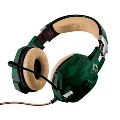 Audífono Gamer Gxt 322C Jungle Camo 3.5mm para Pc-Laptop-Ps4- Xbox One Verde Camuflado 20865