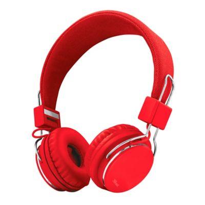 Audífonos Ziva 3.5mm Rojo 21822