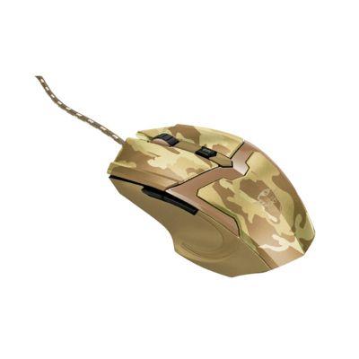 Mouse Gamer Gxt 101D Gav Desert Camo Alámbrico USB Café Camuflado 22794